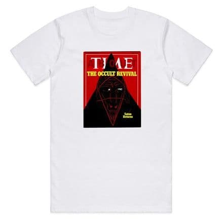 Cult Time T-Shirt - White Large